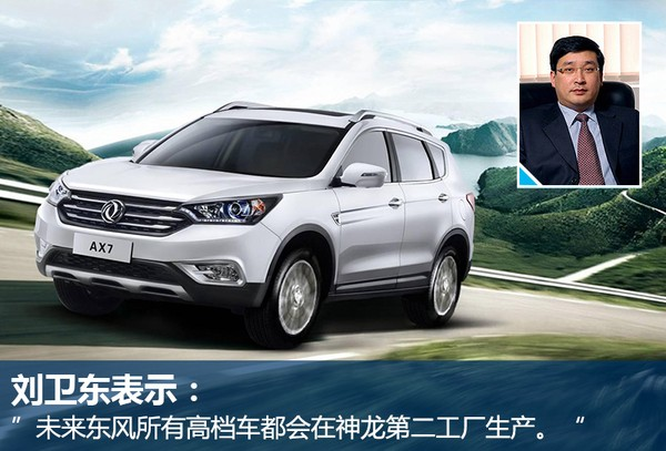 东风将推7座SUV AX9 由神龙工厂代工高清图片