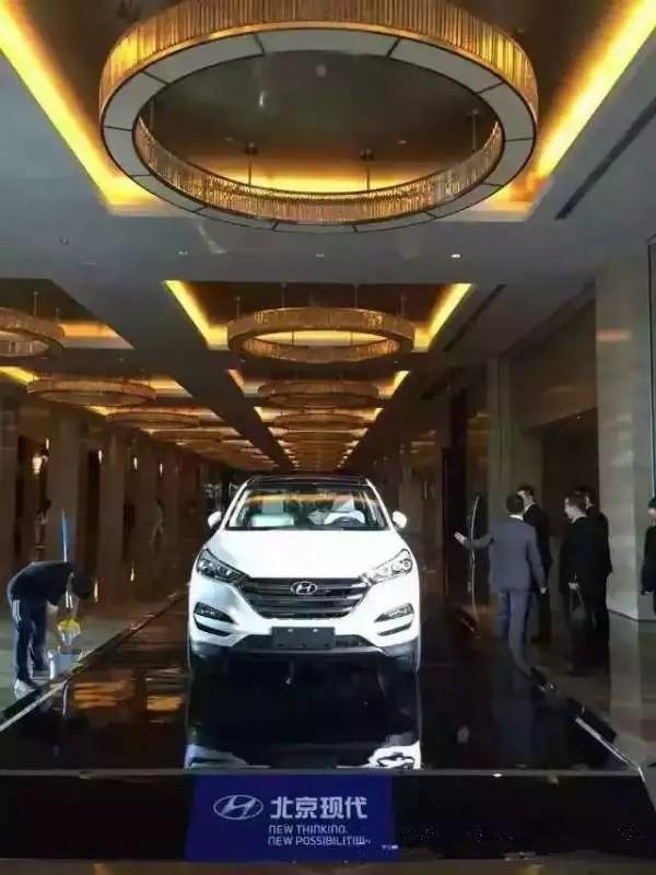 北京现代智能SUV全新途胜开启预定模式高清图片